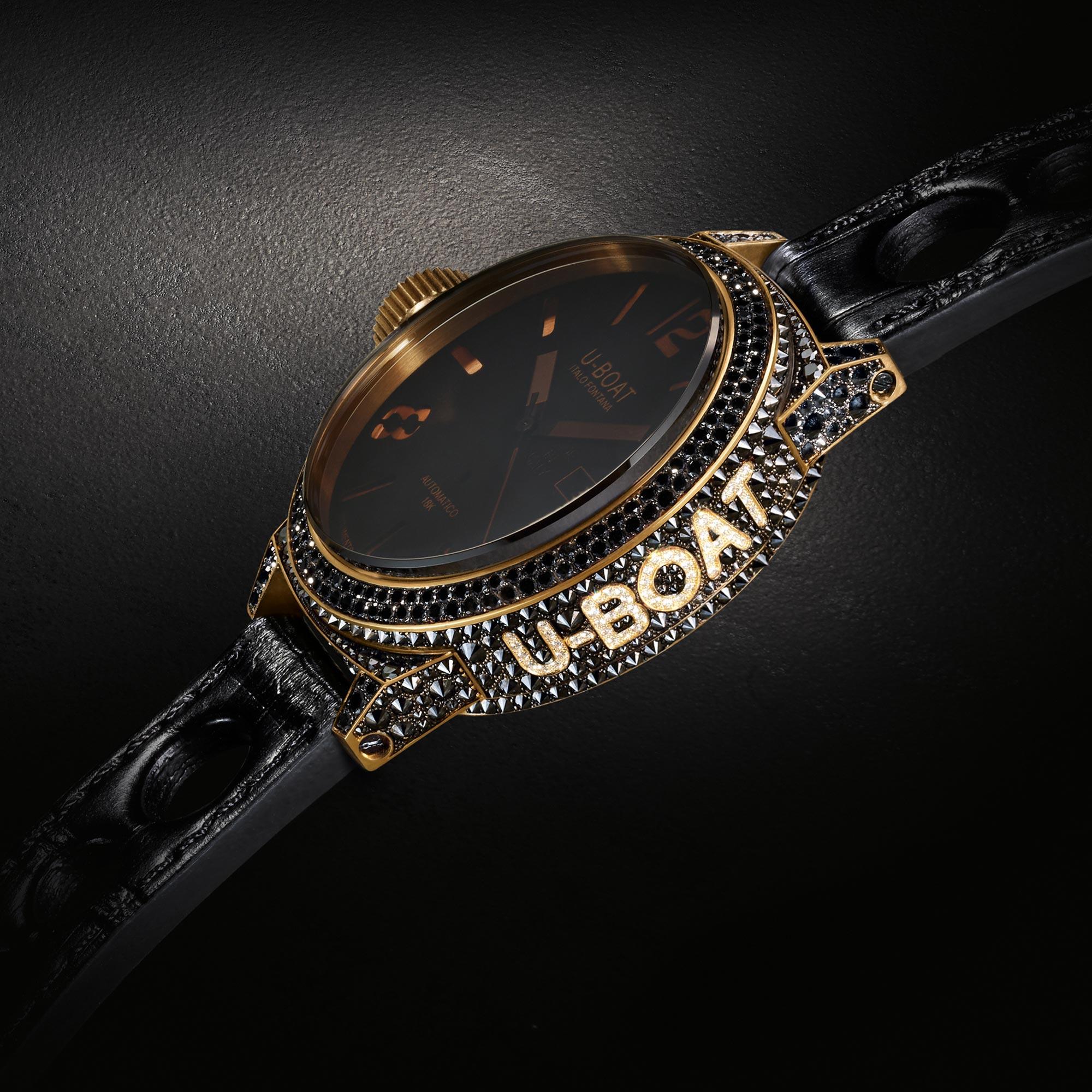 shining-diamonds-u-boat-precious-black-swan-8000-replica-watches